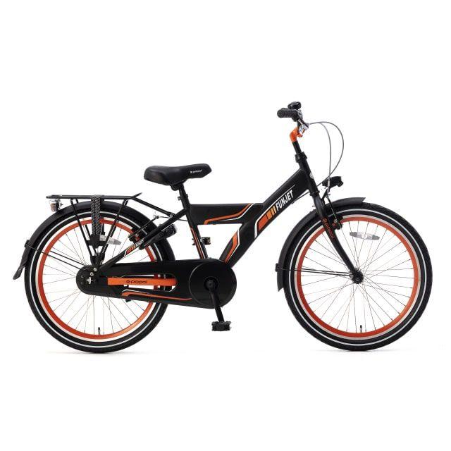Popal Funjet X 22 inch Mat Zwart Oranje