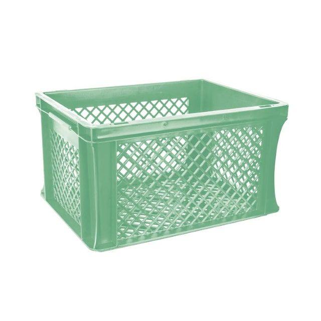 ROJO Fietskrat Mint Groen 40X30X22