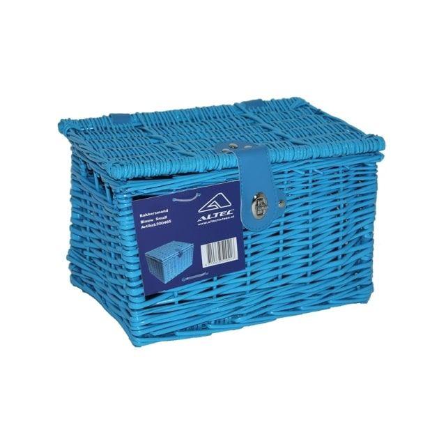 Altec Fietsmand Bakkersmand 32x23x21 cm 15,5 Liter Small Blauw