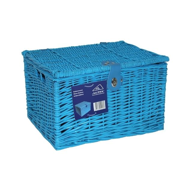 Altec Fietsmand Bakkersmand 41x34x27 cm 37,5 Liter Medium Blauw