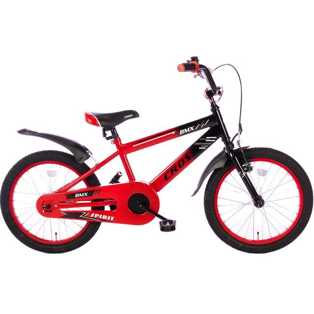 Spirit BMX Cross 18 inch Rood