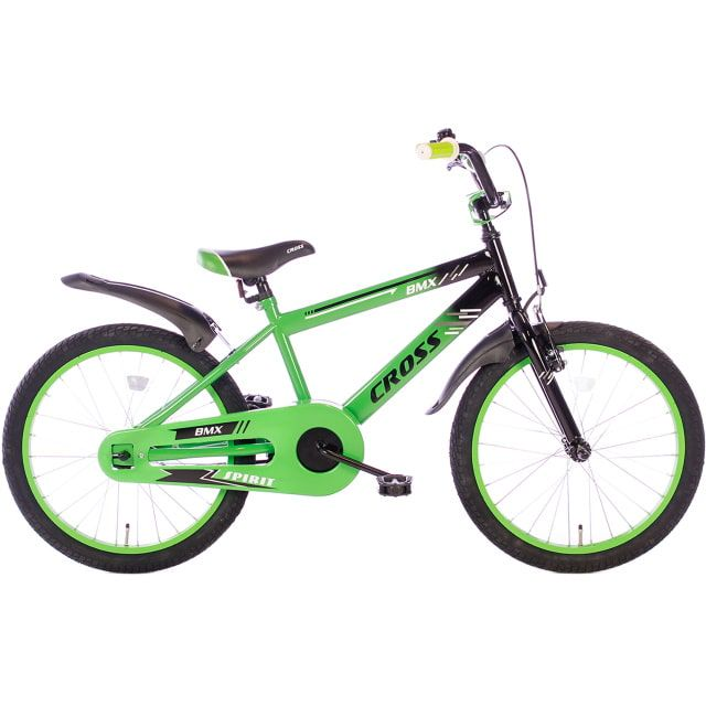 Spirit BMX Cross 20 inch Groen