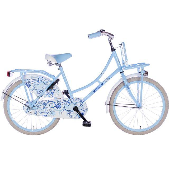 Spirit Omafiets 22 inch Blauw