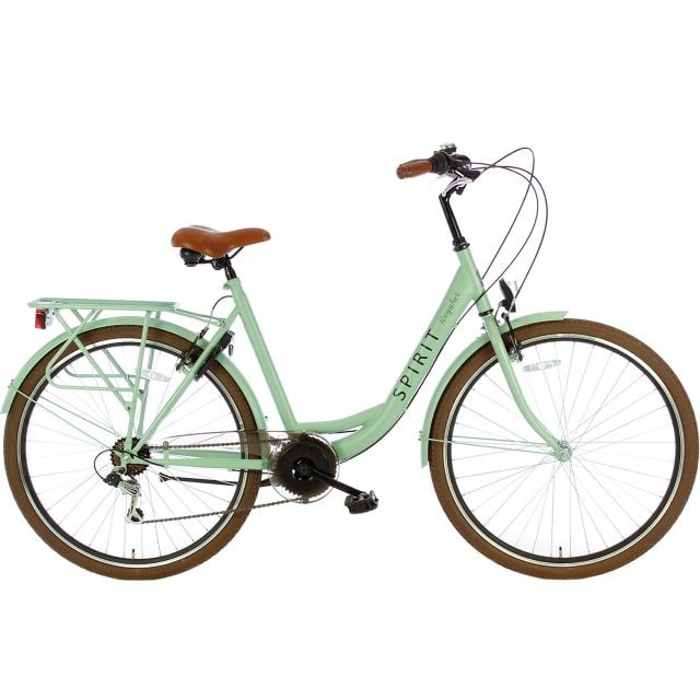 Spirit Regular Lady 7 Speed 28 inch 53 cm Groen