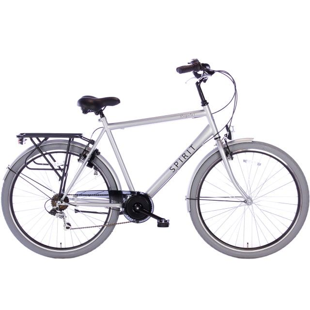 Spirit Regular Man 7 Speed 28 inch 58 cm Mat Grijs