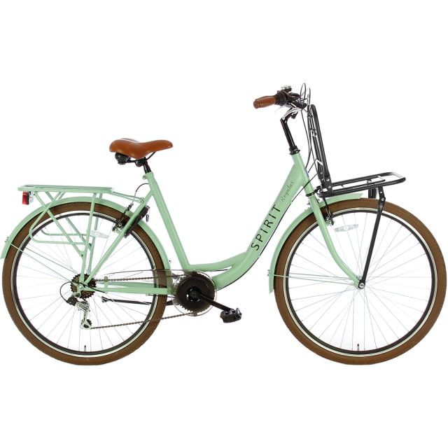 Spirit Regular Plus Lady 7 Speed 28 inch 53 cm Groen