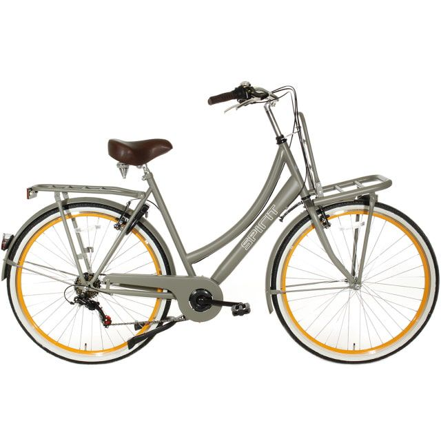 Spirit Transporter 6 Speed Damesfiets 28 inch 50 cm Taupe