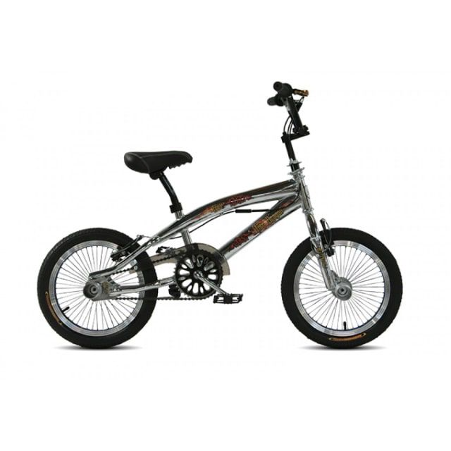 Troy Freestyle BMX 16 inch Chrome