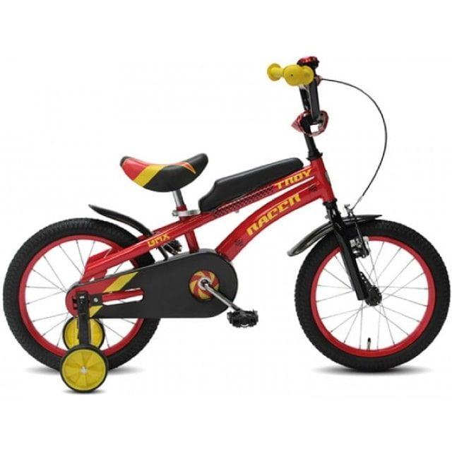 Troy Racer 16 inch Jongensfiets Red