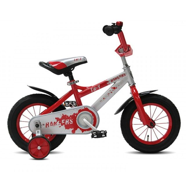 Troy Ranger 12 inch Silver Red