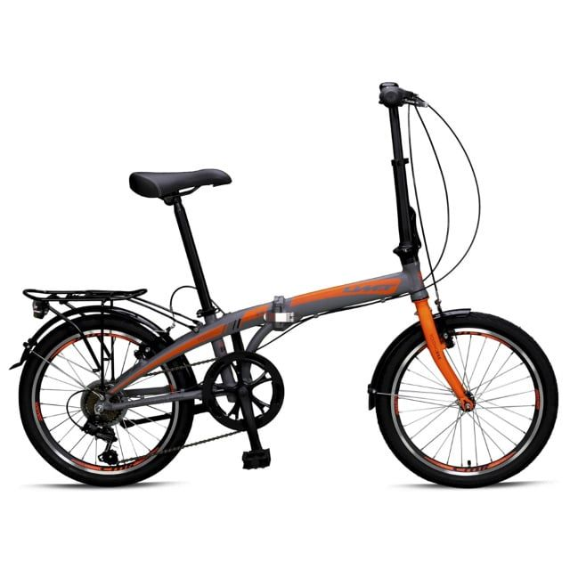 Umit Vouwfiets Folding 6 Versnellingen 20 inch Grey Orange