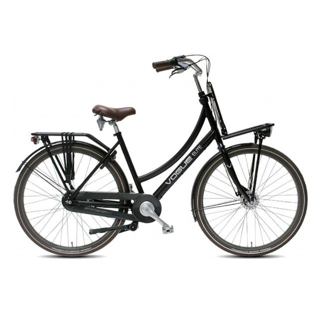 Vogue Elite Transportfiets N3 RB 28 inch Mat Zwart