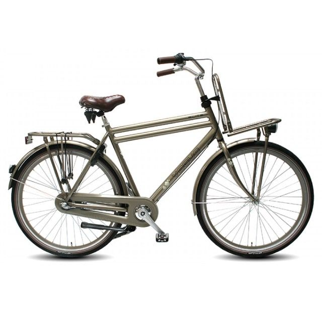 Vogue Elite Transportfiets Heren N7 28 inch Platinum