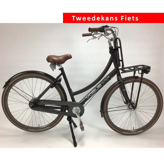 Vogue Elite Plus Urban N3 RB Damesfiets 28 inch 50 cm Matt Brown Tweede Kans
