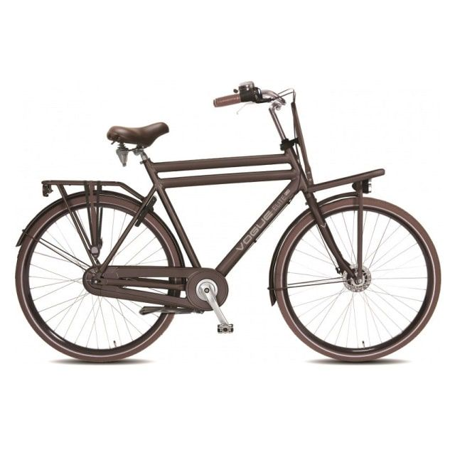 Vogue Elite Transportfiets Heren N3 RB 28 inch Mat Bruin