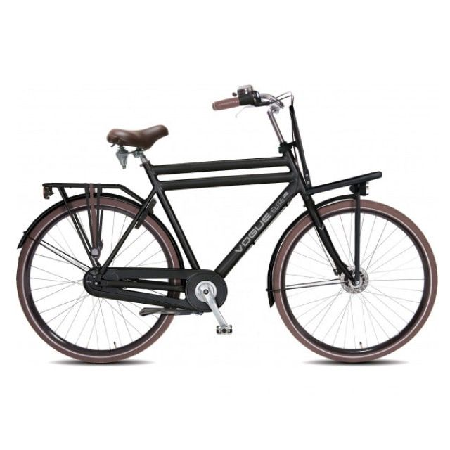 Vogue Elite Transportfiets Heren N3 RB 28 inch Mat Zwart