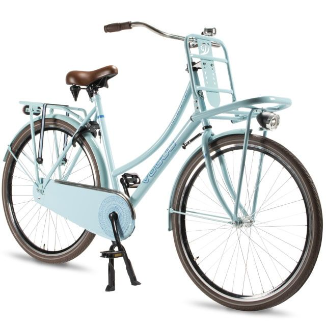 Transportfiets Vogue Transporter Dames 28 inch 57 cm Mint Blue