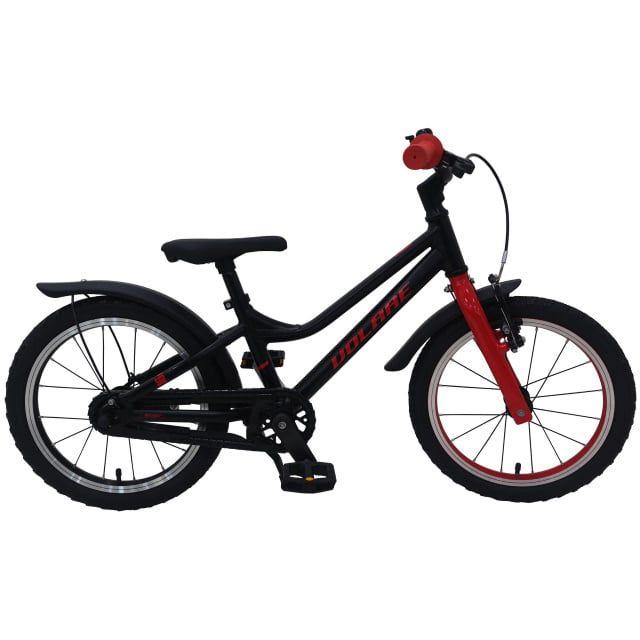 Volare Blaster Kinderfiets Jongens 16 inch Zwart Rood Prime Collection