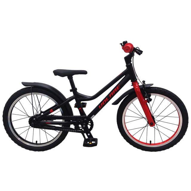 Volare Blaster Kinderfiets Jongens 18 inch Zwart Rood Prime Collection
