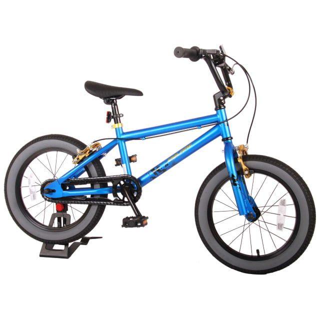 Volare Cool Rider Kinderfiets Jongens 16 inch Blauw Twee Handremmen