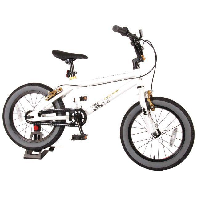 Volare Cool Rider Kinderfiets Jongens 16 inch Wit Twee Handremmen