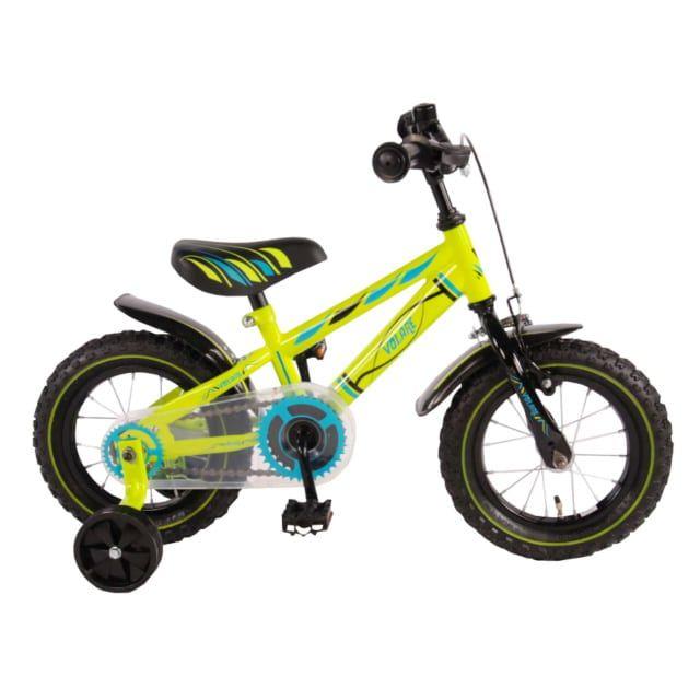 Volare Electric Green Kinderfiets Jongens 12 inch Groen