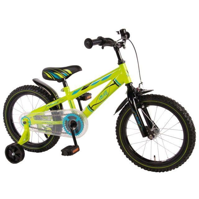 Volare Electric Green Kinderfiets Jongens 16 inch Groen