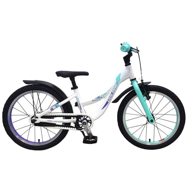 Volare Glamour Kinderfiets Meisjes 18 inch Parelmoer Mint Groen Prime Collection