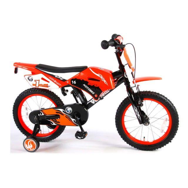 Volare Motorbike 16 inch Oranje