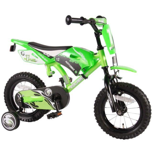 Volare Motobike Kinderfiets Jongens 12 inch Groen