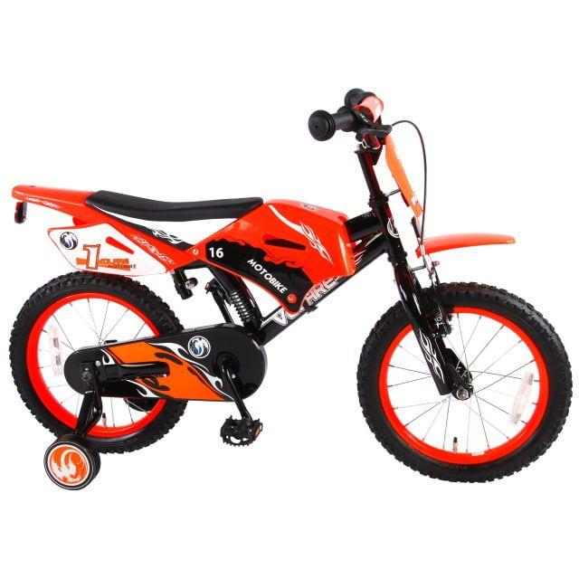 Volare Motobike Kinderfiets Jongens 16 inch Oranje