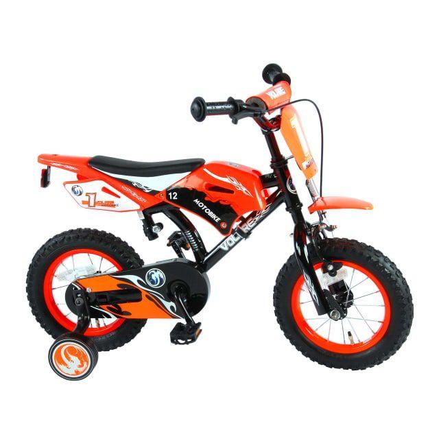 Volare Motorbike 12 inch Oranje