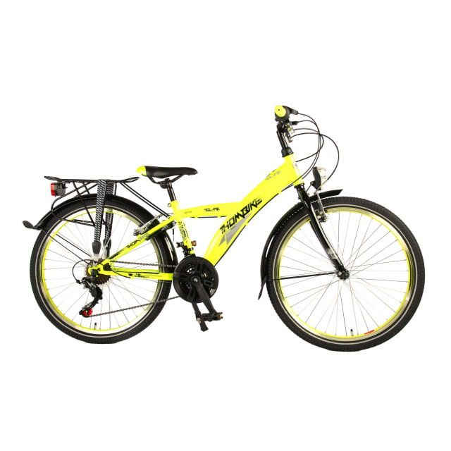 Volare Thombike City 21 Versnellingen 24 inch Neon Yellow