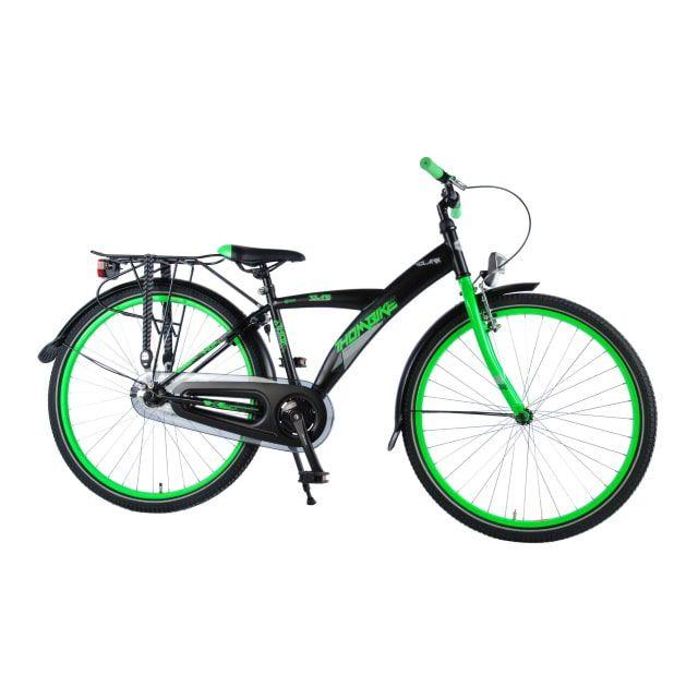 Volare Thombike City 26 inch Zwart Groen