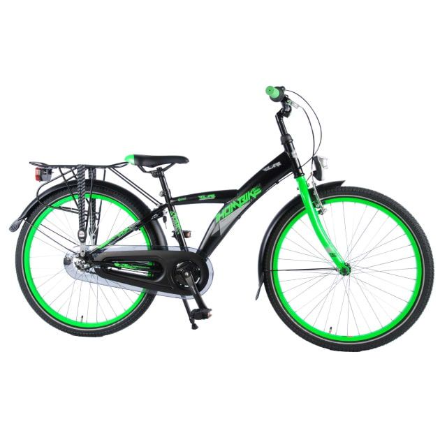 Volare Thombike City 3 Versnellingen 24 inch Zwart Groen