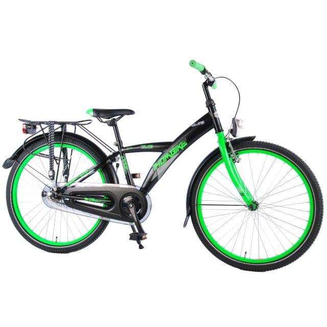 Volare Thombike City Kinderfiets Jongens 24 inch Zwart Groen