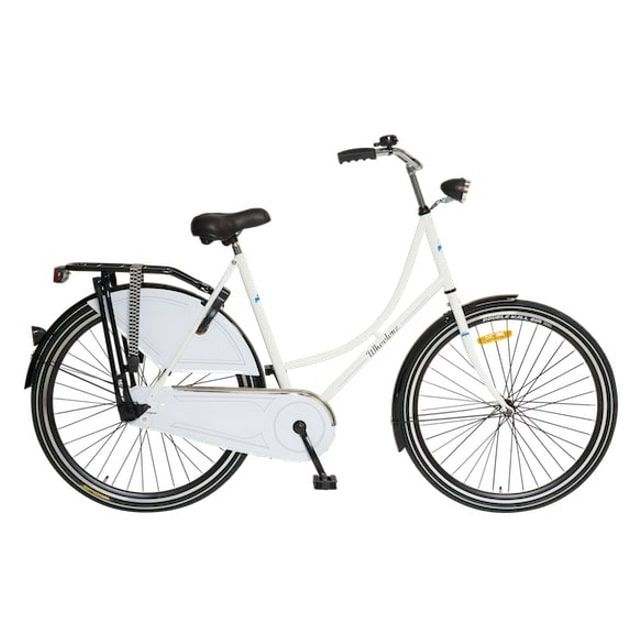 Wheelerz Omafiets 28 inch Wit