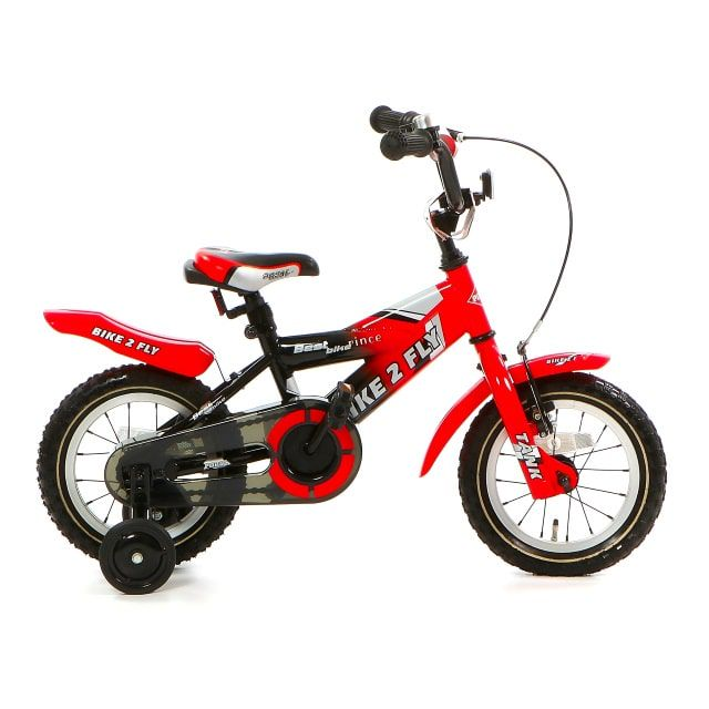 Popal Bike 2 Fly 12 inch Rood