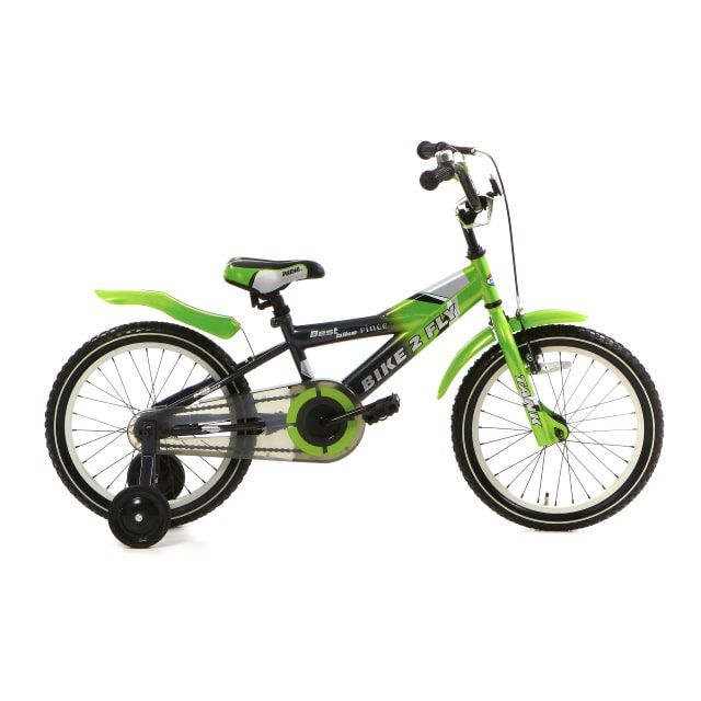 Popal Bike 2 Fly 16 inch Groen