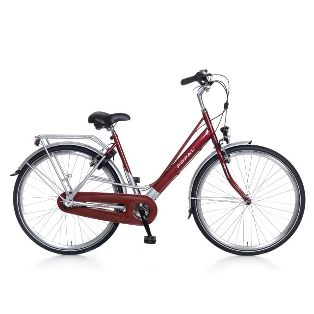 Popal City Classic 3 Versnellingen 28 inch Rood