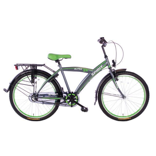 Spirit Alpha 3 Versnellingen 24 inch Groen