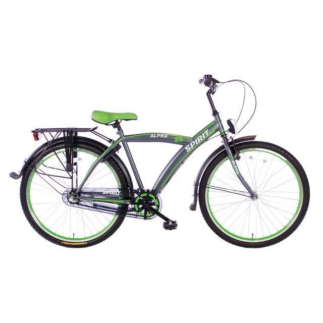 Spirit Alpha 3 Versnellingen 26 inch Groen