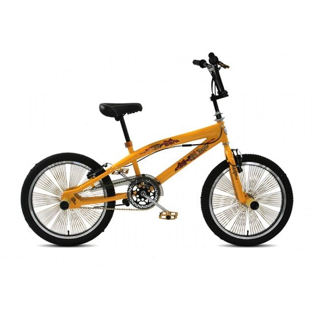 Troy Freestyle BMX 20 inch Yellow