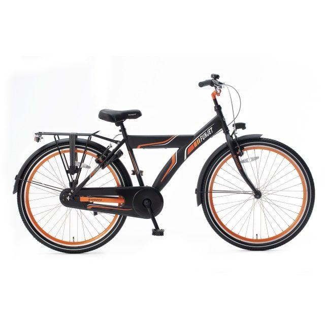 Popal Funjet X 26 inch Mat Zwart Oranje