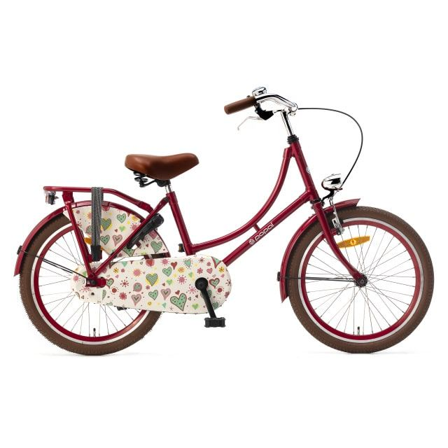 Popal Omafiets 20 inch Rood