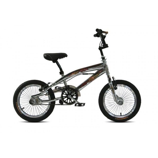 Troy Freestyle BMX 16 inch Chrome