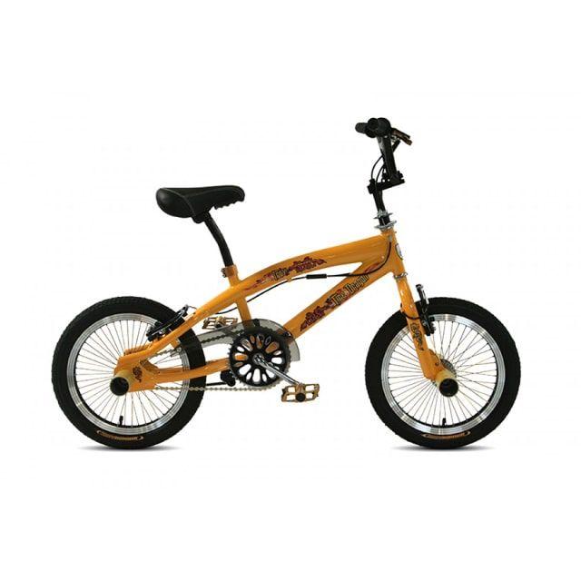 Troy Freestyle BMX 16 inch Yellow