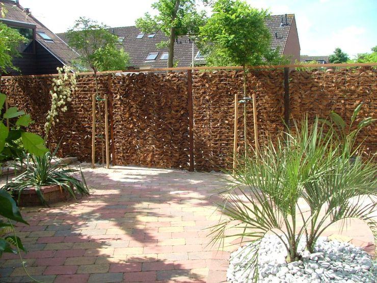 Tuinvoorbeelden achtertuin en inspiratie tuinhout en - Separation bois pour jardin ...