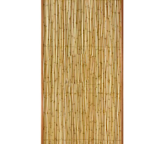Tuinscherm bamboe 90 x 180 cm scherm - Bamboe hek ...