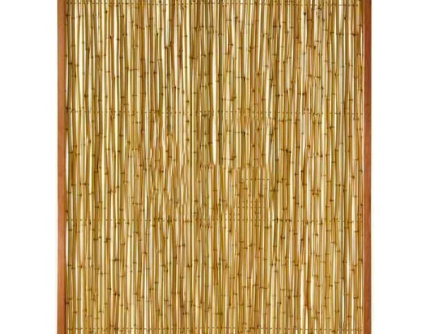 Tuinscherm bamboe schutting 180x150cm scherm - Bamboe hek ...